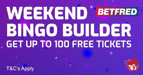 Bingo Builder, Spins Ladder & Prize Nights at Betfred Bingo