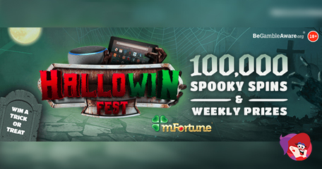 Mysterious New No Deposit Slot and Hallowin Fest Packed with Prizes
