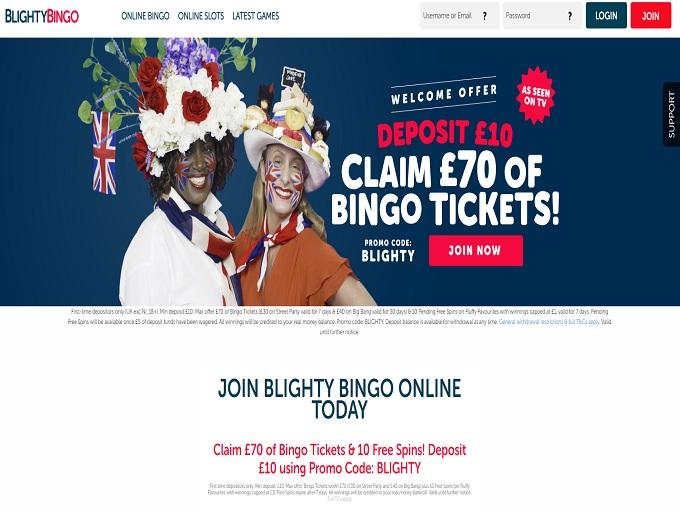 Blighty Bingo Home