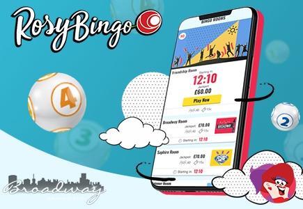 Another Broadway Gaming Bingo Site Unveils Brand-New Rosy Look!