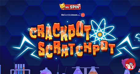 Claim 45 Bonus Spins (with No Deposit Required) for the New Crackpot Scratchpot Slot