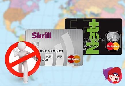 No More Prepaid Mastercard for Non-Euro Neteller & Skrill Users