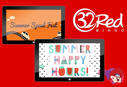 Summer Fun at 32Red Bingo