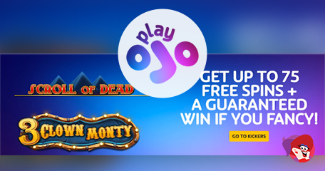 Up to 75 Bonus Spins + A Guaranteed Win with Play OJO