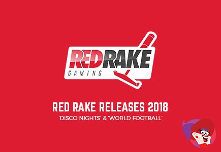 'Disco Nights' & 'World Football' - Red Rake Video Bingo Releases