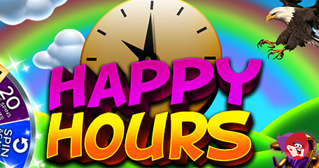 Will You Charm as Many as 500 Bonus Spins from the Mega Wheel this Happy Hour at Charming Bingo?