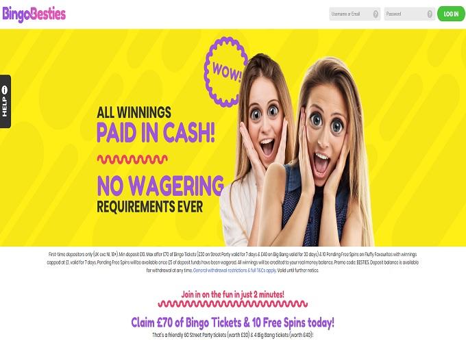 Bingo Besties Home