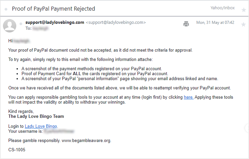 PayPal-Proof-Rejected-2nd-Time