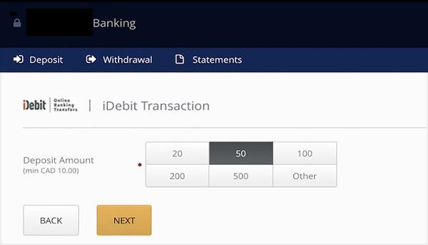 depositing-with-idebit